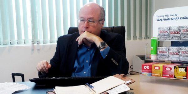 Ông Michael Evans, Trưởng Đại diện DKT International tại Việt Nam