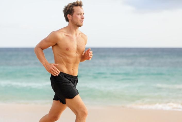 Đàn ông chạy nhiều có thể suy yếu cậu bé