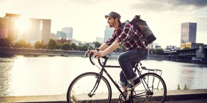 Đạp xe không hại sức khỏe đàn ông