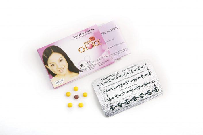 New Choice, thuốc tránh thai