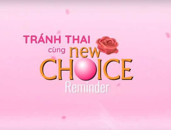 Ứng dụng tránh thai Newchoice