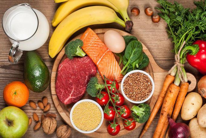 Có chế độ ăn uống khoa học và hợp lí