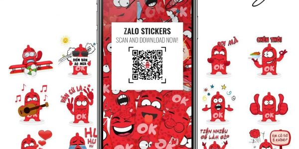 Bộ sticker OK trên Zalo