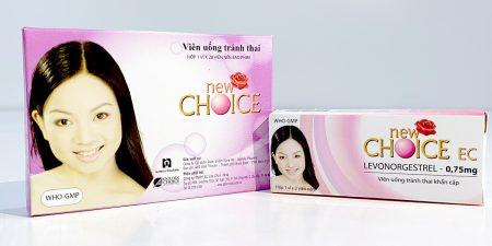 Tránh thai bằng thuốc uống New Choice