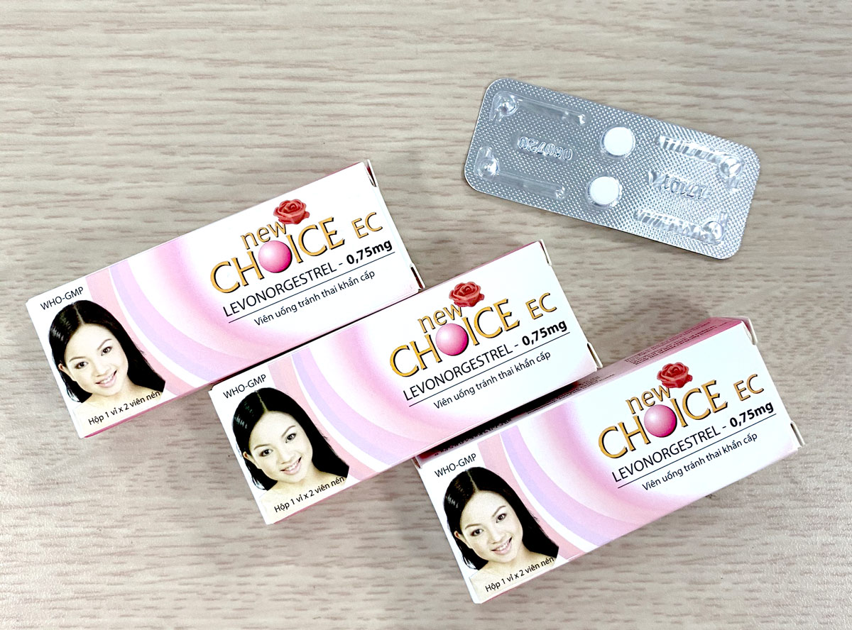 Viên uống tránh thai khẩn cấp New Choice được nhiều người lựa chọn