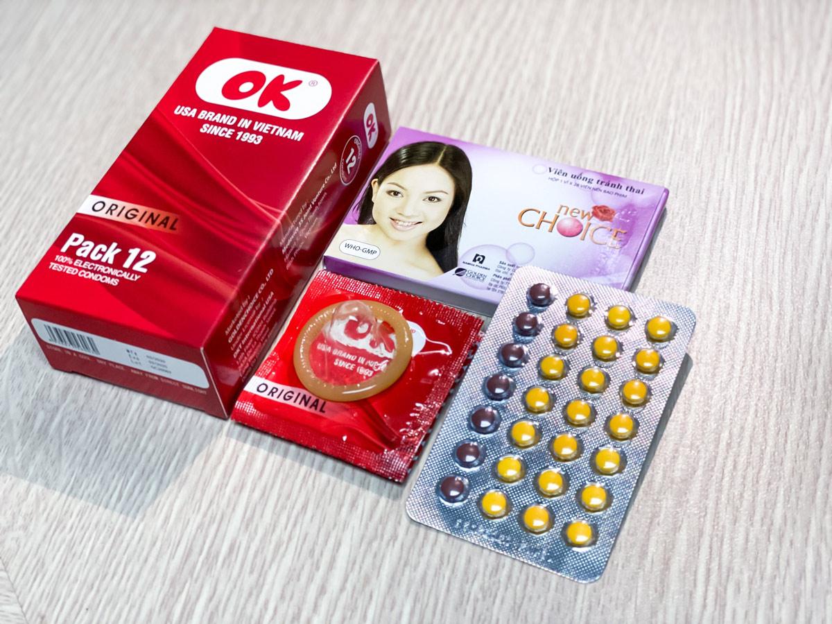 Nên kết hợp cùng với bao cao su khi quên uống thuốc hoặc bắt đầu uống thuốc