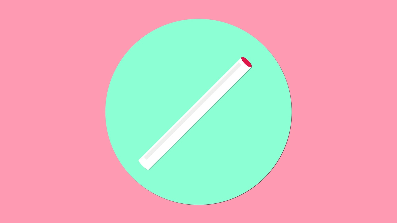 Que cấy tránh thai rất nhỏ, làm bằng nhựa dẻo