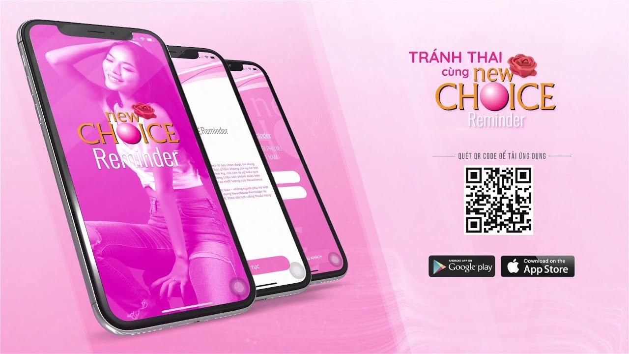 App Tránh thai New Choice