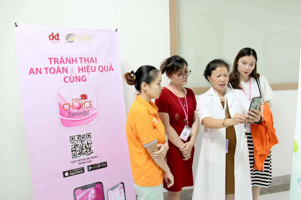 Ứng dụng Tránh Thai New Choice được nhiều người sử dụng