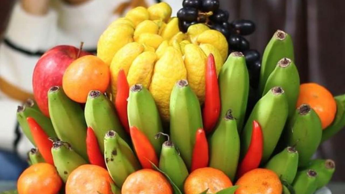 Chuối là loại quả không thể thiếu trong mâm ngũ quả nhưng không nên ăn vào đầu năm