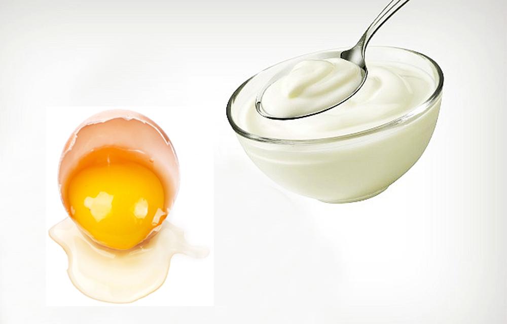 Khi áp dụng công thức kết hợp sữa chua và lòng trắng trứng gà trị rạn da tại nhà sẽ hỗ trợ cho các vết rạn dần mờ đi.