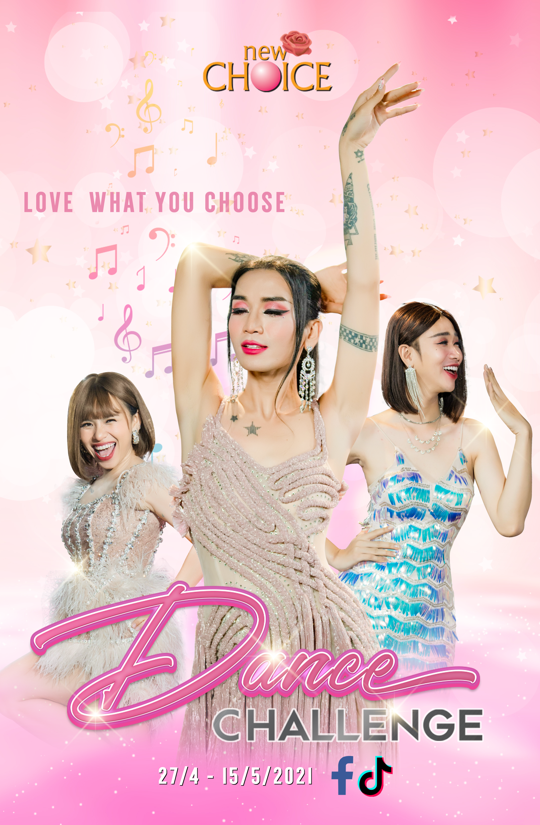 "cuộc thi ""Dance Challenge: Love What You Choose"""