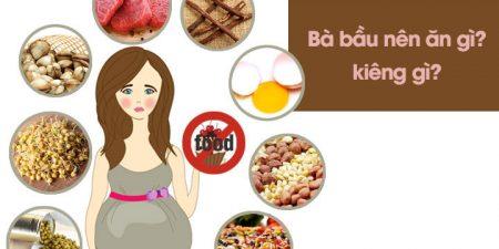 Những thực phẩm không nên ăn khi mang bầu