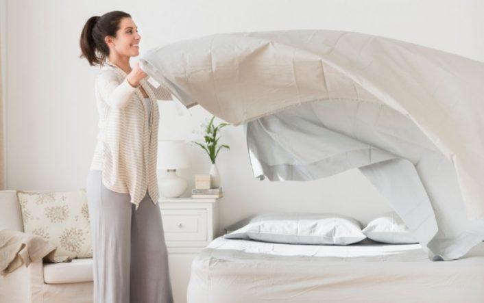 Phương pháp giặt ga giường hiệu quả